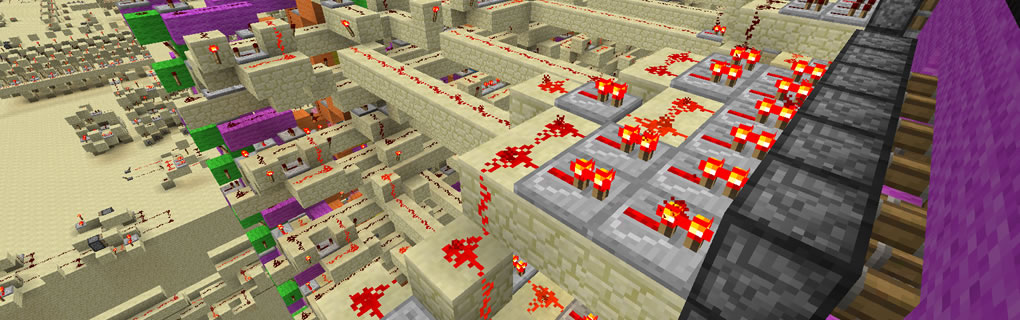 Redstone Server | A Minecraft server running on purest redstone!